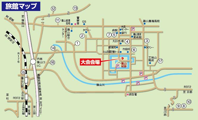 旅館マップ
